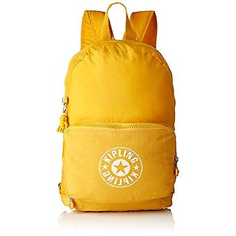 Kipling CLASSIC NIMAN FOLD Backpack Casual 49 cm 21 liters Yellow (Lively Yellow)