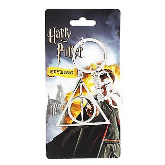 Key Chain - Harry Potter - Pewter CF Harry Potter Deathly Hollow 48054