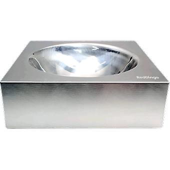 Red Dingo Stainless Feeder (Dogs , Bowls, Feeders & Water Dispensers)