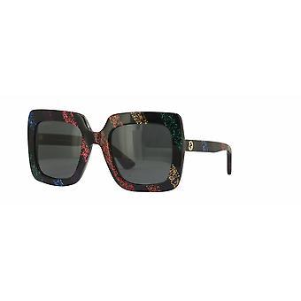 Gucci GG0328S 003 Moniväriset/harmaat aurinkolasit