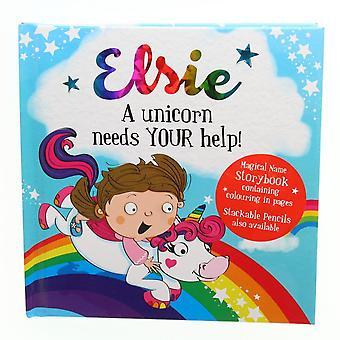History & Heraldry Magical Name Storybook - Elsie