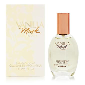Vanilla musk by coty for women 1.0 oz cologne spray