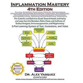 Inflammation Mastery 4th Edition The Colorful and Definitive Guide Toward Health and Vitality and away from the Boredom Risks Costs and Inefficacy of Endless Analgesia Immunosuppression and Poly by Vasquez & Alex
