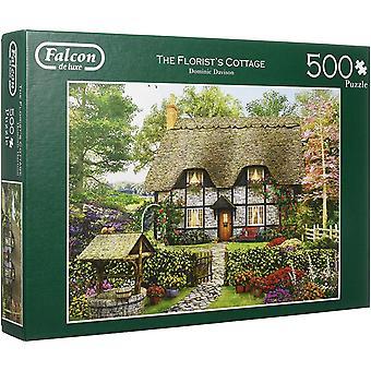 Falcon De Luxe Jigsaw Puzzle - The Florist's Cottage, 500 Piece