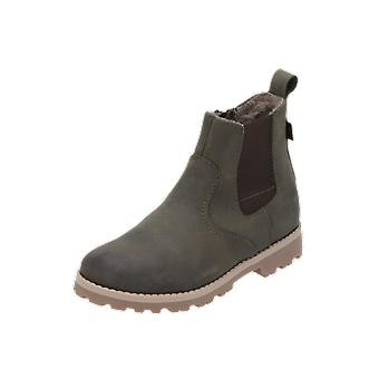 Froddo ankle boots kids boys boots green lace-up boots winter
