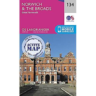 Norwich & The Broads - Great Yarmouth - 9780319475515 Book