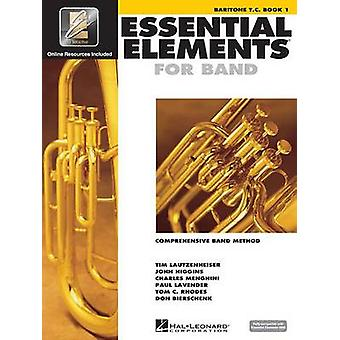 Essential Elements for Band - Baritone T.C. Book 1 with Eei by Hal Le