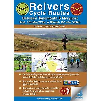 Reivers Cycle Routes - On and Off-road (waterproof) by Ted Liddle - 9