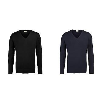 RTY Workwear Mens V-neck Arcylic Wool Sweater / Sweatshirt