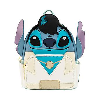 Lilo And Stitch Backpack Elvis Stitch Cosplay Mini PU new Official Loungefly