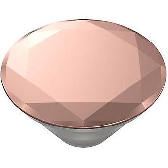 POPSOCKETS Metallic Diamond Rose Gold Mobile phone stand Rose, Metallic