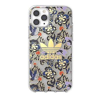 adidas OR Clear Case CNY AOP SS20 iPhone 11 Pro Max - Royal Gold