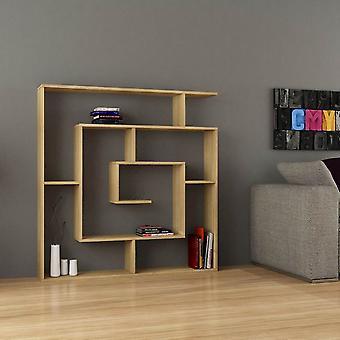 Libreria Labirent Color Rovere in Truciolare Melaminico 125x22x129 cm