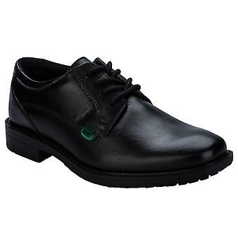 Boy's Kickers Children Chreston Lace Shoe in Black