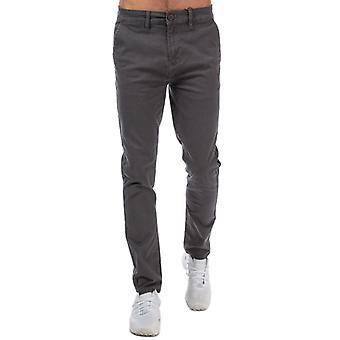 Men's Crosshatch Black Label Kelso Chino Pant in Grey