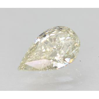 Certified 1.03 Carat I Color VS2 Pear Shape Natural Loose Diamond 8.85x5.34mm