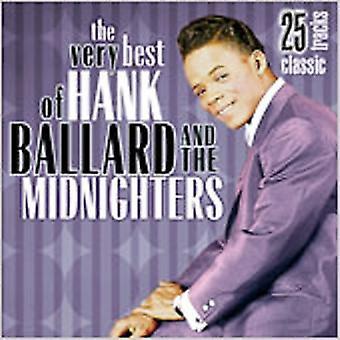 Hank Ballard & Midnighters - mycket bästa av Hank Ballard & MI [CD] USA import