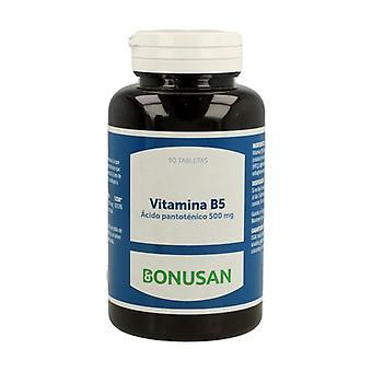 Acide pantothénique de la vitamine B5 90 comprimés de 500mg