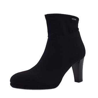 Peter Kaiser Cadis stilvolle Gore-tex Ankle Boot In Black Stretch