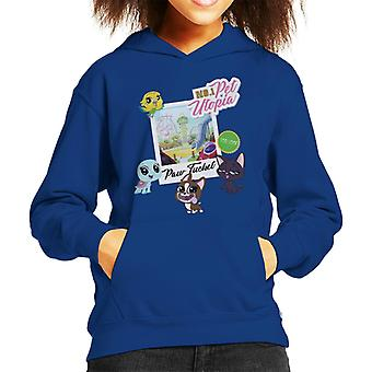 Littlest Pet Shop Paw Tucket Pet Utopia Kid's Hooded Sweatshirt