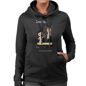 Love Is Feeling Light Headed Women's Hooded Sweatshirt