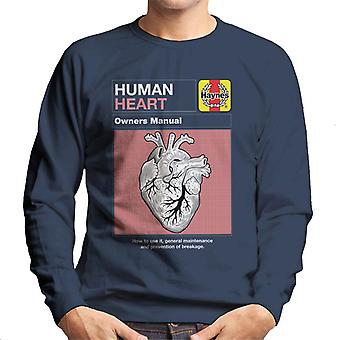 Haynes Human Heart Owners Manual Hombres's Sudadera