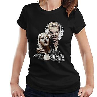 Buffy The Vampire Slayer Spike Scene Women's T-Shirt