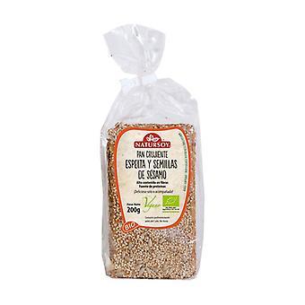 Crunchy Spelt Sesame Bread 200 g