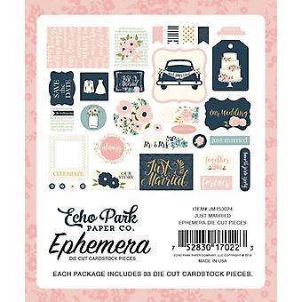 Echo Park Just Married Ephemera