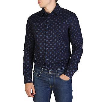 Armani jeans 6y6c32 men's camicia a maniche lunghe