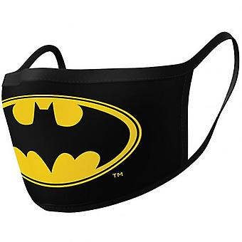 باتمان 2pk الوجه أغطية الشعار