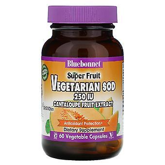 Bluebonnet Nutrition, Super Fruit, Vegetarian SOD, Cantaloupe Fruit Extract, 250