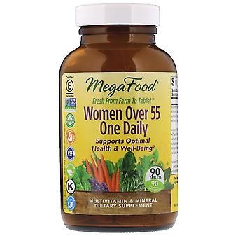 MegaFood, Women Over 55 One Daily, 90 Tablets