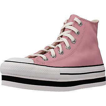 Converse Sport / Zapatillas Ctas Eva Lift Hi Lotus Color Pink