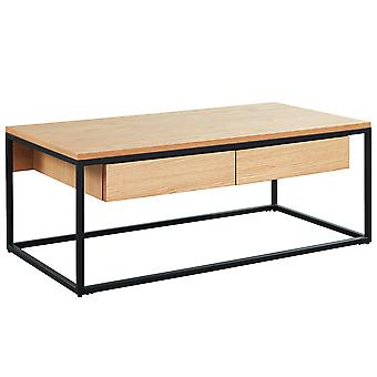 Evangeline Coffee Table - Oak