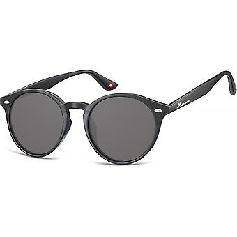 Sunglasses Unisex Panto Cat.3 black (S20)