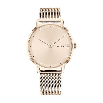 Tommy Hilfiger horloge 1782150-dor roze Fashion Dial Milanese dor roze vrouwen