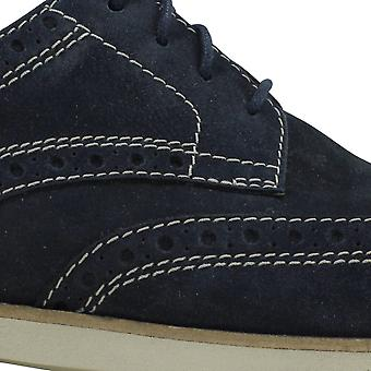 Bostonian Pariden Wing Navy Nubuck 26125049 Men's
