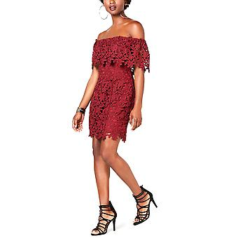 Guess   Enna Lace Off-the-Shoulder Dress