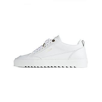 Mason Garments Reflective White Tia Leather Sneaker