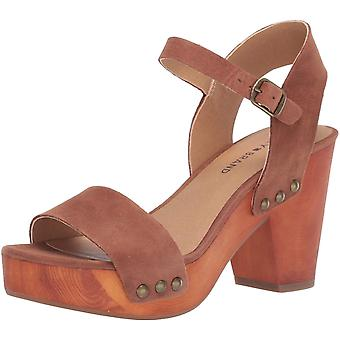 Lucky Brand Women's Schoenen LK-TRISA Leather Open Toe Casual Slingback Sandals