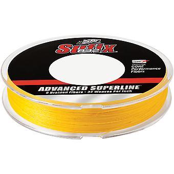 Sufix 150 Yard 832 Advanced Superline Braid Fishing Line - 8 lb. - Hi-Vis Yellow