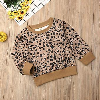 Leopard Print, Baby Pullovers Clothes