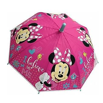 Minnie Mouse Childrens/Kids I Believe In Me Stick Umbrella