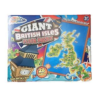 Grafix Giant British Isles Map Floor Puzzle