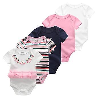 Yksisarvinen Tytöt Vaatteet Bodysuits - Vastasyntyneet Vauvanvaatteet