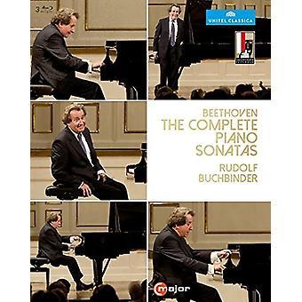 Beethoven: Complete Piano Sonatas [Blu-ray] USA import