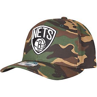 Mitchell & Ness 110 Flexfit Snapback Cap Brooklyn Nets camo
