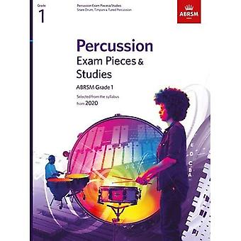 Percussion Exam Pieces & Studies, ABRSM Grade 1: Selected from the syllabus from 2020 (ABRSM Exam Pieces)
