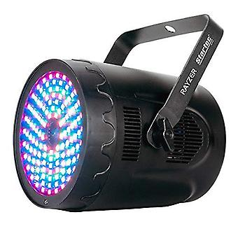 Adj products led wash and b,g,r laser effect light (razor lazer)